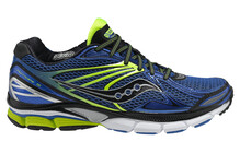 saucony Hurricane 15  Hardloopschoenen Stabiliteit Heren PowerGrid geel/blauw